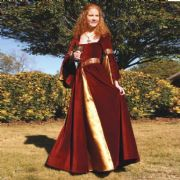 Medieval Princess Berengaria Gown